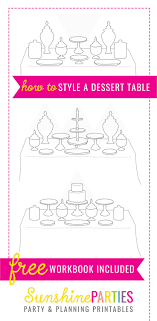 best 25 birthday table decorations ideas on desert