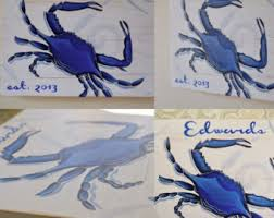 Crab Decorations For Home Wood Crab Etsy