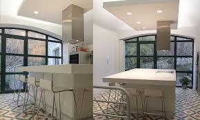 faux plafond design cuisine plafond ilot lumiere cuisine recherche cuisine