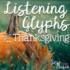 thanksgiving listening glyphs by jena hudson at sew much tpt