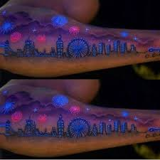 20 best glow in the dark temporary tattoos designs and ideas 2018
