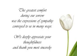 condolence gift thank you note for condolence gift thank you sympathy notes bahia