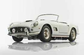 handmade ferrari 250 california silver by cmc models racing heroes