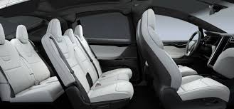 luxury minivan interior model x tesla
