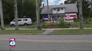 American Flag House Florida Man Paints American Flag On House To Protest Code
