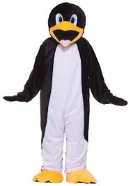 eskimo halloween costume deluxe penguin costume mascot animal halloween costumes