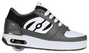 heelys megawatt light up wheels mega watt 9204 black white gunmetal heelys shoes