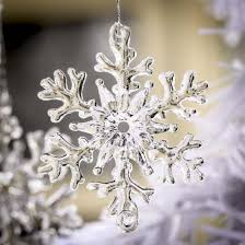 snowflake ornaments small clear acrylic snowflake ornaments christmas ornaments