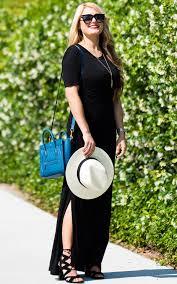 the perfect black maxi dress u2013 christian blair style