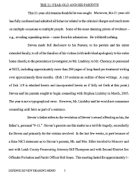 Number Stairs by Defense Review Hearing Memo Page 3 U201csome Of The Most Damning