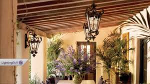 Outdoor Patio Hanging Lights by Outdoor Hanging Lanterns Youtube
