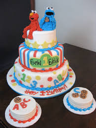 Cookie Monster Baby Shower Decorations Baby Themed Cakes Oakleaf Cakes Bake Shop