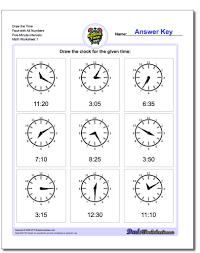 worksheets on telling time adding 3 digit numbers worksheet