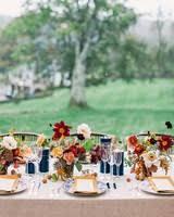 Fall Table Decorations For Wedding Receptions - 66 rustic fall wedding centerpieces martha stewart weddings
