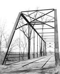 bridges of county map bridgehunter com raccoon creek bridge