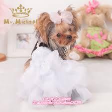 Dog Wedding Dress Aliexpress Com Buy Small Dog Clothes Wedding Dress Pet Cothing