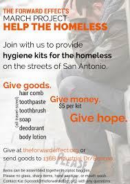 hygiene kits for the homeless current projects u2014 the forward