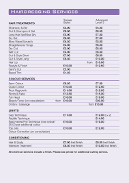 Holiday Hair Haircut Prices Bliss U2013 Sandwell College