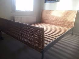 Ikea Bed Frame King Size Ikea Wicker King Size Wicker Bed Frame In Norbury Gumtree