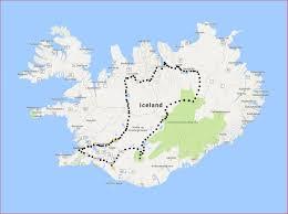 Iceland World Map Visionarywild Com Iceland Overland