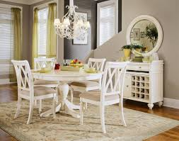 wooden base on white rug ideas white dining table and chairs black