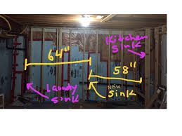 basement wet bar drain plumbing diy home improvement diychatroom