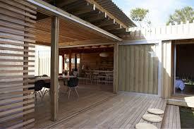 Interior Designer New Zealand by Excellent Wooden Wall Interior Beach Summer House In New Zealand