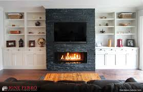 jt residence family room fireplace igne ferro