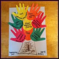 handprint thanksgiving poem craft with printable template fall