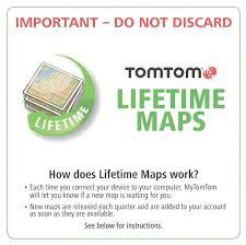 Tomtom Map Updates New Tomtom Usa Canada Lifetime Map Update Card Code Go 2405 2435 M