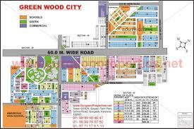 Phoenix City Map by Green Wood Gurgaon Map Green Wood Gurgaon City Map Green Wood Map