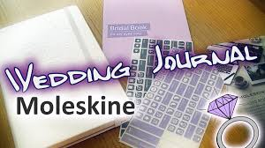 wedding journal moleskine wedding journal planner review amethystra bits