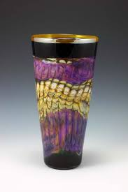 Amethyst Glass Vase Katz Glass Design Gartner Blade Glass