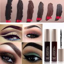 Henna Eye Makeup Eye Brow Tint Tattoo Dye Waterproof Makeup Black Brown Henna