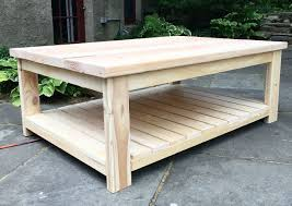 awesome remodelaholic diy simple wood slab coffee table for