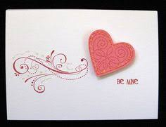 to my card heart button card by from pad beautiful more button