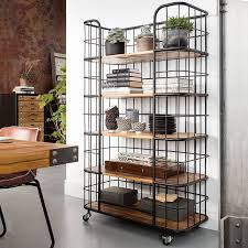 Industrial Shelving Unit by Industrial Basket Shelving Unit By I Love Retro