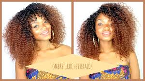 ombre crochet braids knotlesss crochet braids ll ombre island curls