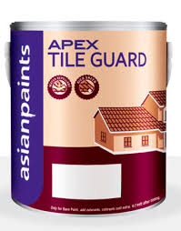 decorative paint for roofs exterior acrylic apex tile