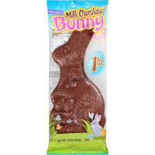 easter chocolate bunny frankford solid milk chocolate easter bunny 16 oz walmart