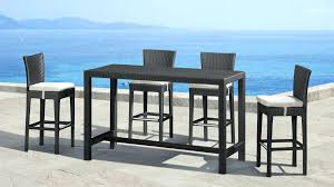 high table with bar stools wicker outdoor bar stools large size of astounding high table patio