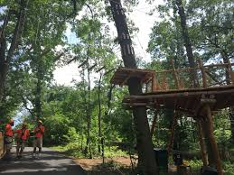 just opened treetop adventure and nature trek at the bronx zoo