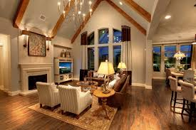 Model Home Interior Park Place Estates Drees Custom Homes Brinkley Model Design