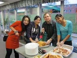 at msu a thanksgiving dinner for students who stay