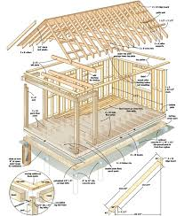 small log cabin blueprints build this cozy cabin for home design garden plans magazine