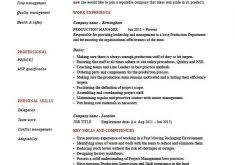Production Resume Examples by Crafty Design Cook Resume Skills 10 Chef Sample Examples Sous Jobs