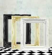 shabby chic picture frame ornate frame vintage style frames white