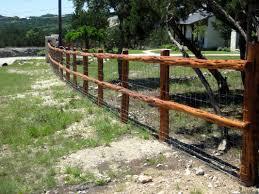 install wood fence rails at backyard u2014 bitdigest design