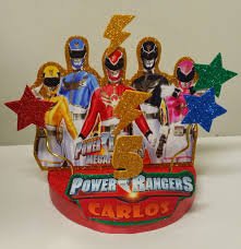 power rangers cake toppers s creations cake toppers