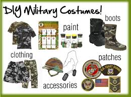 Army Costumes Halloween Halloween Haves Homemade Military Costumes